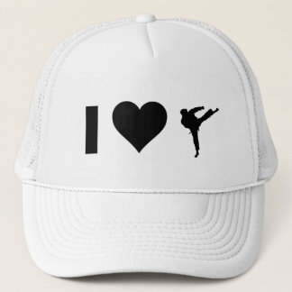 I Liebe-Karate Truckerkappe