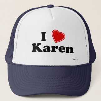 I Liebe Karen Truckerkappe