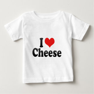 I Liebe-Käse Baby T-shirt