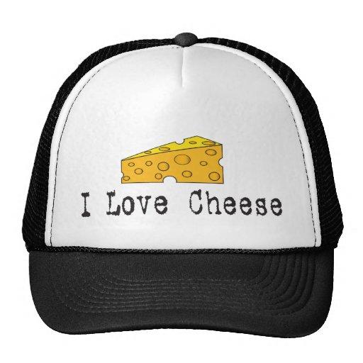 I Liebe-Käse-Hut Netzmütze