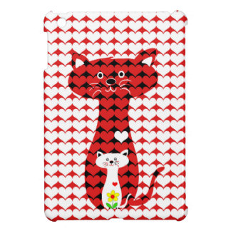 I Liebe-Katzen 2 Hülle Für iPad Mini