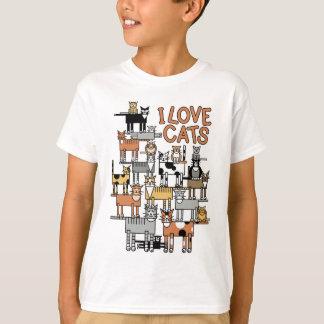 I LIEBE-KATZEN T-Shirt