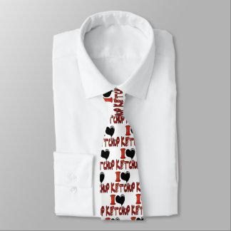 I Liebe-Ketschup Krawatte