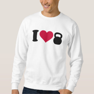 I Liebe Kettlebell Sweatshirt