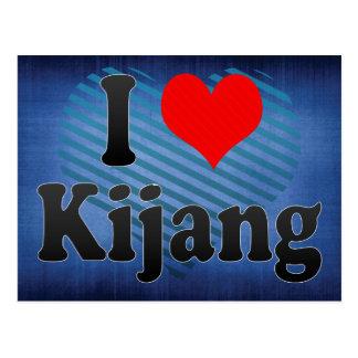 I Liebe Kijang, Korea. Naega Salang Kijang, Korea Postkarte