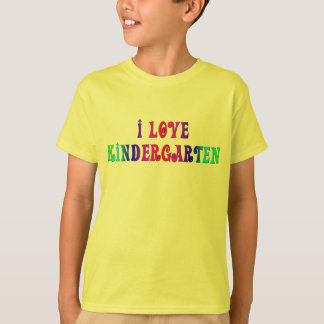 I Liebe-Kindergarten-Shirt T-Shirt