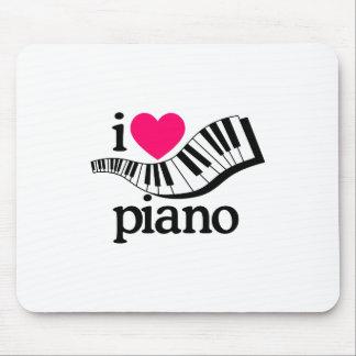 I Liebe-Klavier/Tastatur Mousepad
