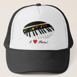 I Liebe-Klavier! Truckerkappe
