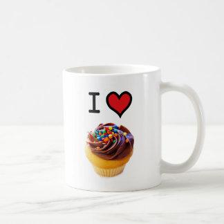 I Liebe-kleine Kuchen Kaffeetasse