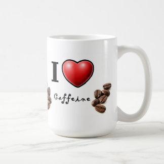 I Liebe-Koffein Kaffeetasse