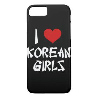 I Liebe-Koreaner-Mädchen iPhone 8/7 Hülle