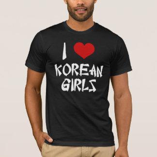 I Liebe-koreanisches Mädchen-Shirt T-Shirt