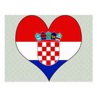 I Liebe Kroatien Postkarte