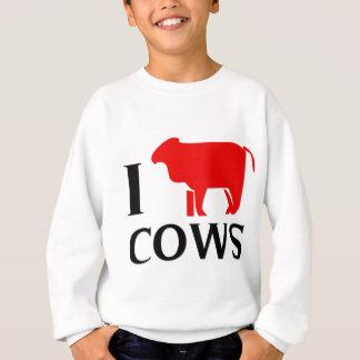 I Liebe-Kühe Sweatshirt