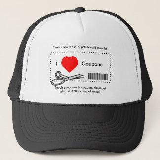 I Liebe-Kupons - unterrichten Sie einen Mann zu Truckerkappe