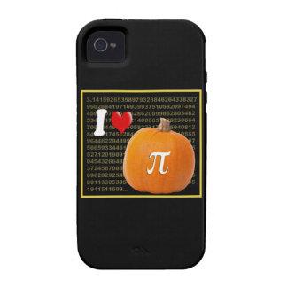 I Liebe-Kürbis-Torten-und Vibe iPhone 4 Case