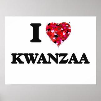I Liebe Kwanzaa Poster