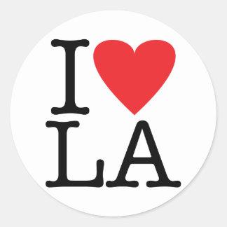 I Liebe LA (Los Angeles) Aufkleber