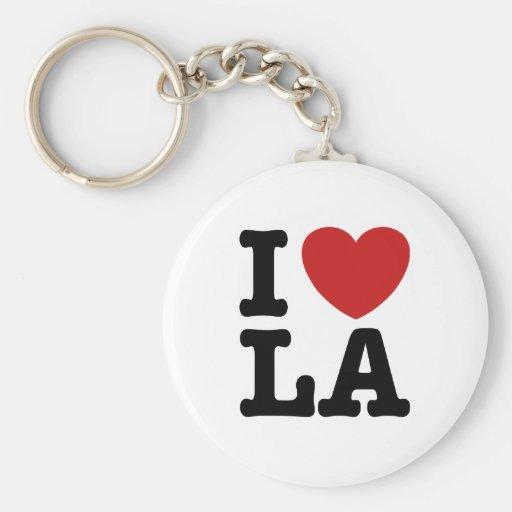 I Liebe LA Schlüsselanhänger
