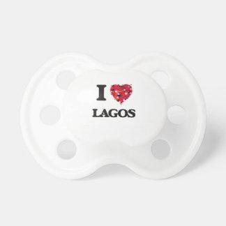 I Liebe Lagos Nigeria Baby Schnuller