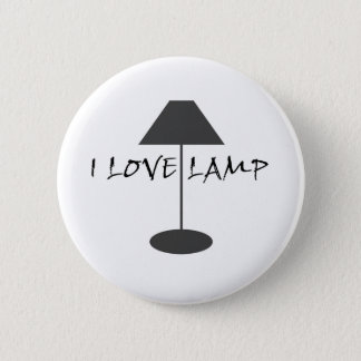 I Liebe-Lampe Runder Button 5,1 Cm