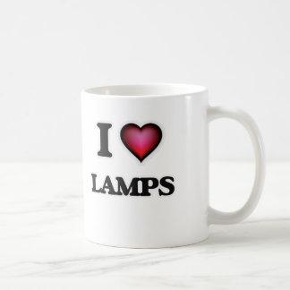 I Liebe-Lampen Kaffeetasse