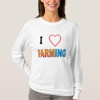 I Liebe-Landwirtschaft! T-Shirt