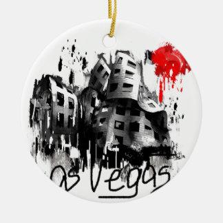 I Liebe Las Vegas Keramik Ornament