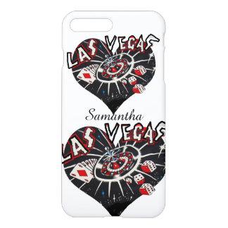 I Liebe-Las- Vegasherzen iPhone 8 Plus/7 Plus Hülle