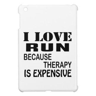 I Liebe laufen gelassen, weil Therapie teuer ist iPad Mini Hülle
