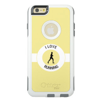 I LIEBE-LAUFEN OtterBox iPhone 6/6S PLUS HÜLLE