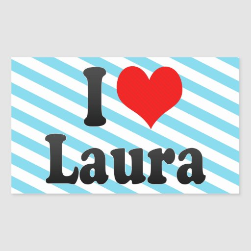 I Liebe Laura Stickers