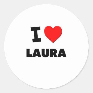 I Liebe Laura Sticker