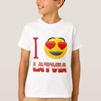 I Liebe LETTLAND T-Shirt