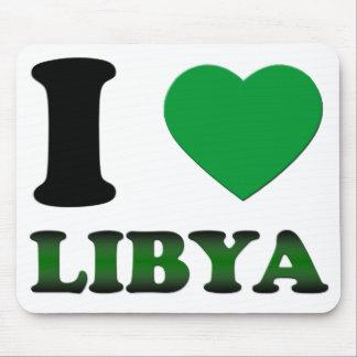 I LIEBE LIBYEN MOUSEPADS