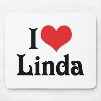 I Liebe Linda Mousepads