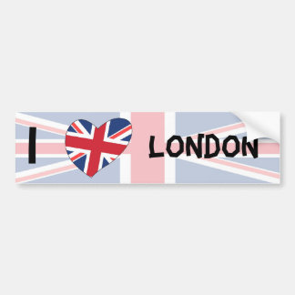 I Liebe London Autoaufkleber
