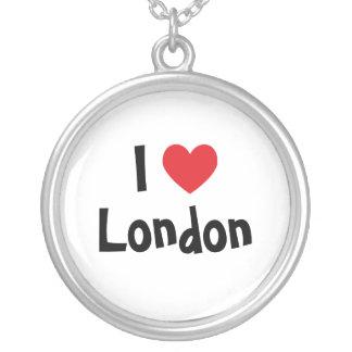 I Liebe-London-Halskette