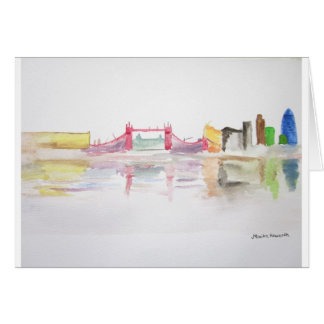 I Liebe London Grußkarte