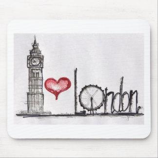 I Liebe London Mauspads
