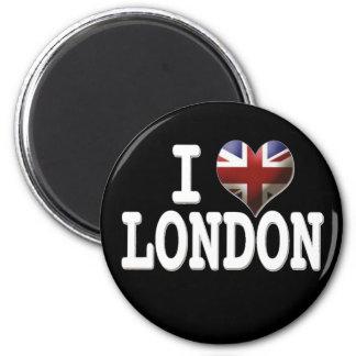 I Liebe London Runder Magnet 5,7 Cm