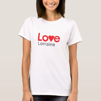 I Liebe Lothringen T-Shirt