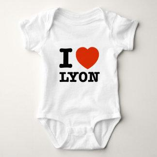 I Liebe Lyon Baby Strampler
