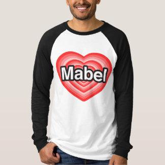 I Liebe Mabel. Liebe I Sie Mabel. Herz T-Shirt