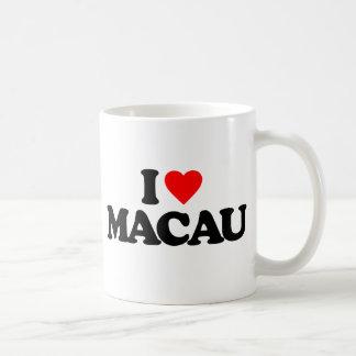 I LIEBE MACAO KAFFEETASSE