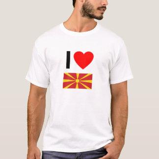 I Liebe Macedonia T-Shirt