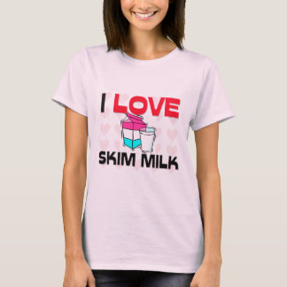 I Liebe-Magermilch T-Shirt