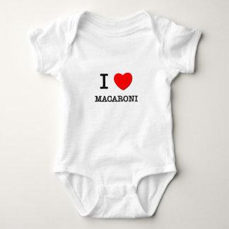 I Liebe-Makkaroni Baby Strampler