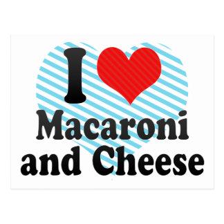 I Liebe-Makkaroni+und Käse Postkarte