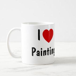 I Liebe-Malen Kaffeetasse